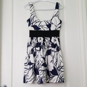 Necessary Objects summer dress with black band